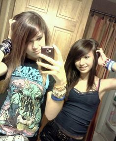 Taylor and me in my Asking Alexandria shirt. I Like Your Hair, Emo Princess, Emo Scene Hair, Ugly Outfits, Scene Kids, Punk Goth, Emo Fashion, Alternative Fashion, Aesthetic Clothes