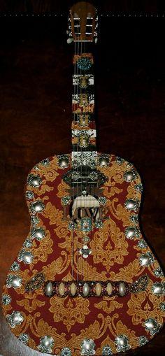 bohemian Vintage guitar-carnival of venice poetic wanderlust- tracy porter ~via~