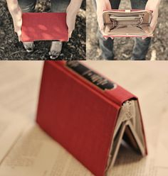 Book purse, so chic! #textbooks #books