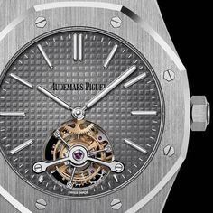 Fancy   Audemars Piguet Royal Oak Tourbillon Extra-Thin Platinum Watch