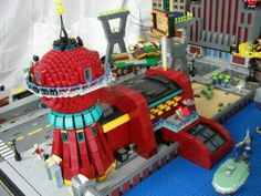 Planet Express in lego