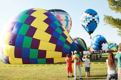 New Haven, Missouri Balloon Race Sept. 2014.  Just across the river from Washington.  Photo from the Missourian.