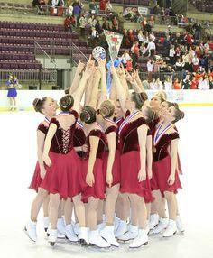 Haydenettes, 2014 Synchronized Skating National Champions, Senior.        22 time National Champions.