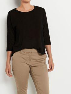 Fall Winter, Autumn, 1 Image, Catalog, Khaki Pants, Black, Fashion, Moda, Khakis