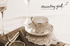Tea Cup Country Wedding Décor by Country Girl Collections