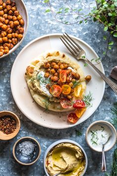 Vegetarian Recipes Easy, Veggie Recipes, Salad Recipes, Healthy Recipes, Vegetarian Meal, Vegan Meals, Vegan Food, Healthy Meals, Healthy Food