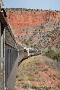 Article about the Verde Canyon Railroad in Clarkdale, Arizona.