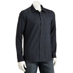 Marc Anthony Slim-Fit Plaid Woven Casual Button-Down Shirt - Men - product - Product Review
