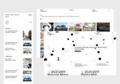 Blank is a group of Russian architects located in Moscow that needed a new identity and website.The logotype consists of an international and timeless typography and an icon that is both modern and classic.The icon is an abstract representation of two a…