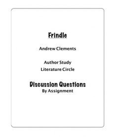 I'm using this on the week we read Frindle! Reading Street 5th Grade