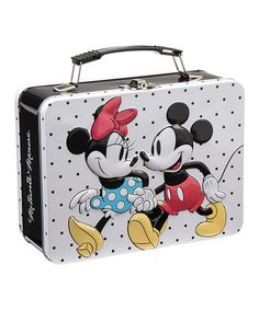 Another great find on #zulily! Mickey & Minnie Mouse Lunch Box #zulilyfinds