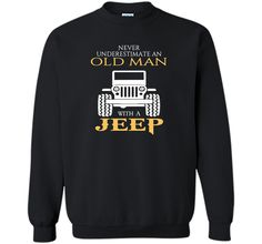 Never underestimate an old man with a jeep