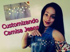 #VEDA4 DIY: Como customizar Camisa Jeans