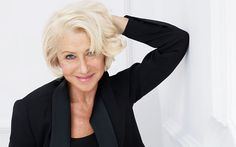 Helen Mirren, accomplished actress and brand ambassador for L'Oreal Paris.