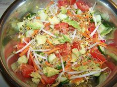 No Sugar No Flour Recipe - Awesome Rawsome Salad(Sugar-Free Flour-Free - low carbs)