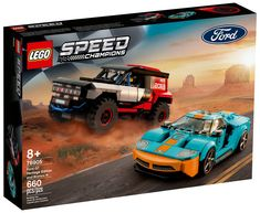 Ford Gt, Car Ford, Ford Bronco, Construction Lego, Brick Store, Dodge Srt, Top Fuel Dragster, Lego Speed Champions, Lego Builder
