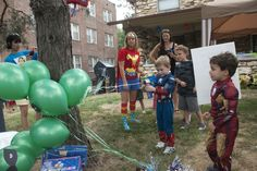 "Photo 7 of 96: Superhero / Birthday ""Jackson's Superhero 4th Birthday "" 
