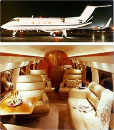 """Sleek and Beautiful Gulf Stream II Luxury, Private, Business Jet"" .. ""Ready For FUN"" ..."