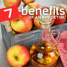 You would be surprised at the amazing health benefits of completing an apple cider vinegar detox…