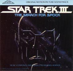 James Horner - Star Trek 3 - The Search For Spock - Soundtrack - Front