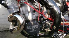Insane Honda CR500 2 stroke Supermotard Bike. Video inside...