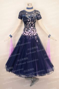2016New Style!ballroom Standard Dance Dress ballroom dance competition in international competitions,Waltz Competition Dress