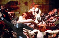 David Tennant in places he shouldn't be. Star Wars Junk Compactor....he would have made the situation more humorous.
