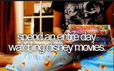 I want to have a party with the right people who will truly appreciate watching Disney movies all day long!