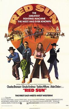 Western Movies - Movie Posters - Red Sun