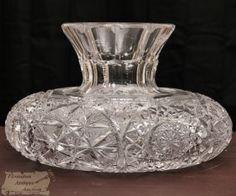 ____, ____, American brilliant cut glass, 32pt hobstr, 10d, 7-5h.