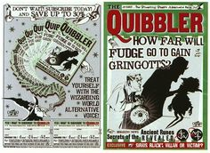 """The designers weren't allowed to put dates on the Quibbler. 