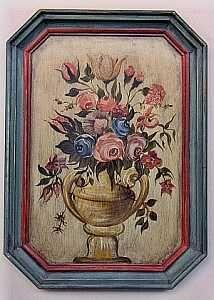 Dekorative Malerei - Wandbilder u. Möbel