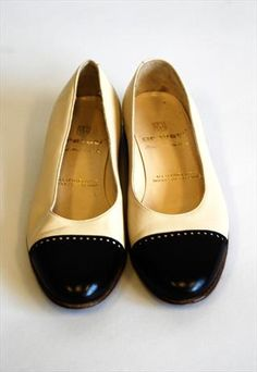 60's leather flats