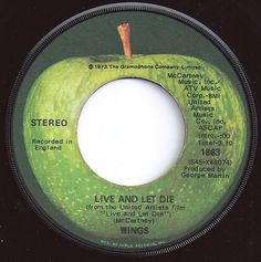 Live And Let Die / Paul McCartney & Wings / on Billboard 1973 Rare Records, Old Records, Vinyl Records, Fun Music, Music Love, Beatles Albums, The Beatles, Paul Mccartney And Wings, Apple Records