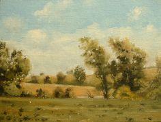 Kansas Landscape Paintings | Some rights reserved. This work is licensed under a