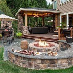 Easy Fire Pit Backyard Ideas (3)