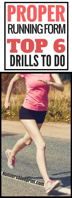 running form is neglected most of the time. That's a common mistake I see many runners make—especially recreational runners. That's why today, dear runner, I'm sharing with you a list some of the best drills you can do to improve your running technique. Keep Running, How To Start Running, Running Tips, Running Training, How To Run Faster, Running Plan, Endurance Training, Running Quotes, Running Drills