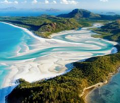 Amazing Places Around the Globe,Whitehaven Beach, Queensland, Australia- been there