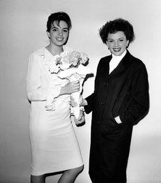 @ethan1960/movie / Twitter Hollywood Actor, Classic Hollywood, Old Hollywood, Old Celebrities, Celebs, Lorna Luft, Judy Garland Liza Minnelli, Studio 54, Garland Wedding