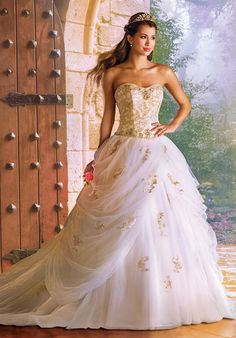 The 2016 Alfred Angelo Disney Fairy Tale Wedding Gowns - Belle