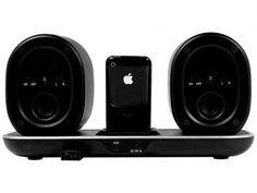 Dock Station SXA para iPhone e iPod Lifestyle - SPI720 12W com Caixa Acústica