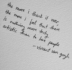 #Vincent Van Gogh #Quote