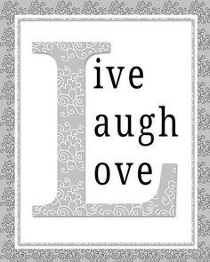 live love laugh poster | da semas87