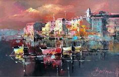 Branko Dimitrijevic, Escape, Oil on Canvas, 20x30cm, £260
