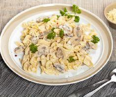 Csavart tészta tejszínes gombával Recept képpel - Mindmegette.hu - Receptek
