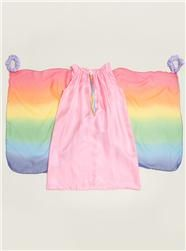 Couverture and The Garbstore - Childrens - Sarah's silks - silk rainbow fairy dress