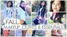 Fall makeup, outfits & essentials! 2014