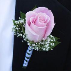 Pink rose boutonniere http://globalrose.com/Merchant5/graphics/00000001/Bt.%20Rose%20Light%20Pink-RbWhite.jpg