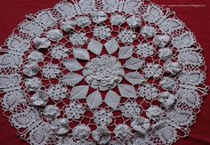 Hi everybody,It's been a while since I updated this space… Hope all of you are busy completing your holiday crochet / cross stitch decorations… I just started a Christmas doily after finishing this Butterfly Garden doily which took me almost 7 months to complete… of course I was doing it very slowly