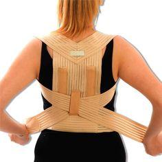 Medical Grade Bad Posture Corrector - Correct Back, Shoulder, Lumbar Problems - Beige Support Brace. Large = 90 - 100cm: Amazon.co.uk: Health & Personal Care #forwardheadposturebrace